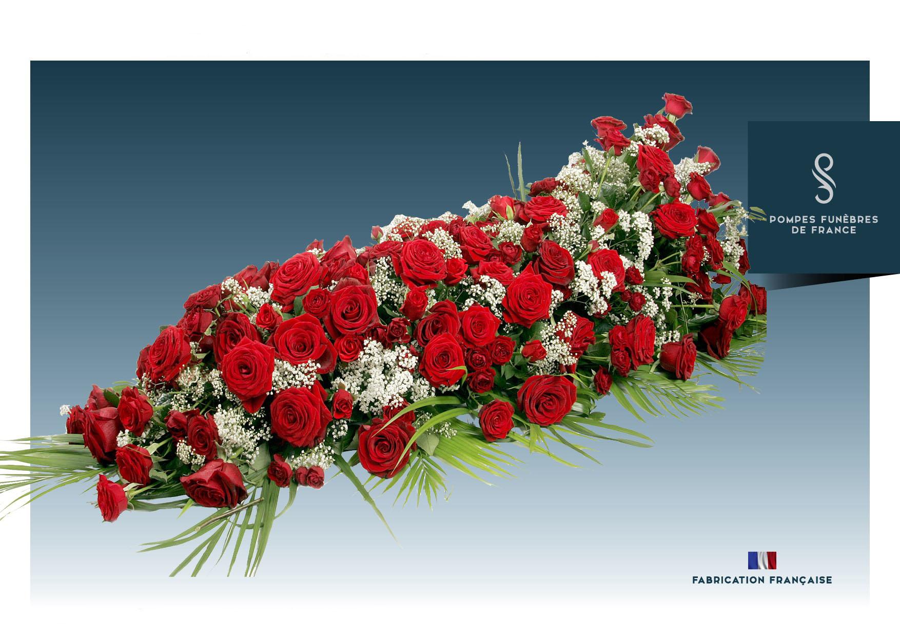 Dessus de cercueil ÉTERNEL AMOUR