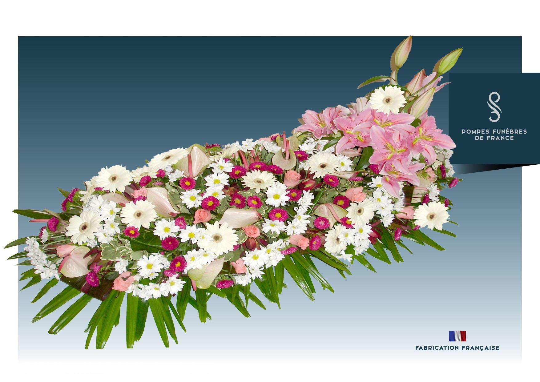 Dessus de cercueil CLASSIQUE