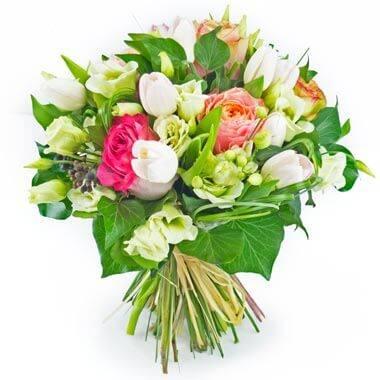 Bouquet Boucle Rose